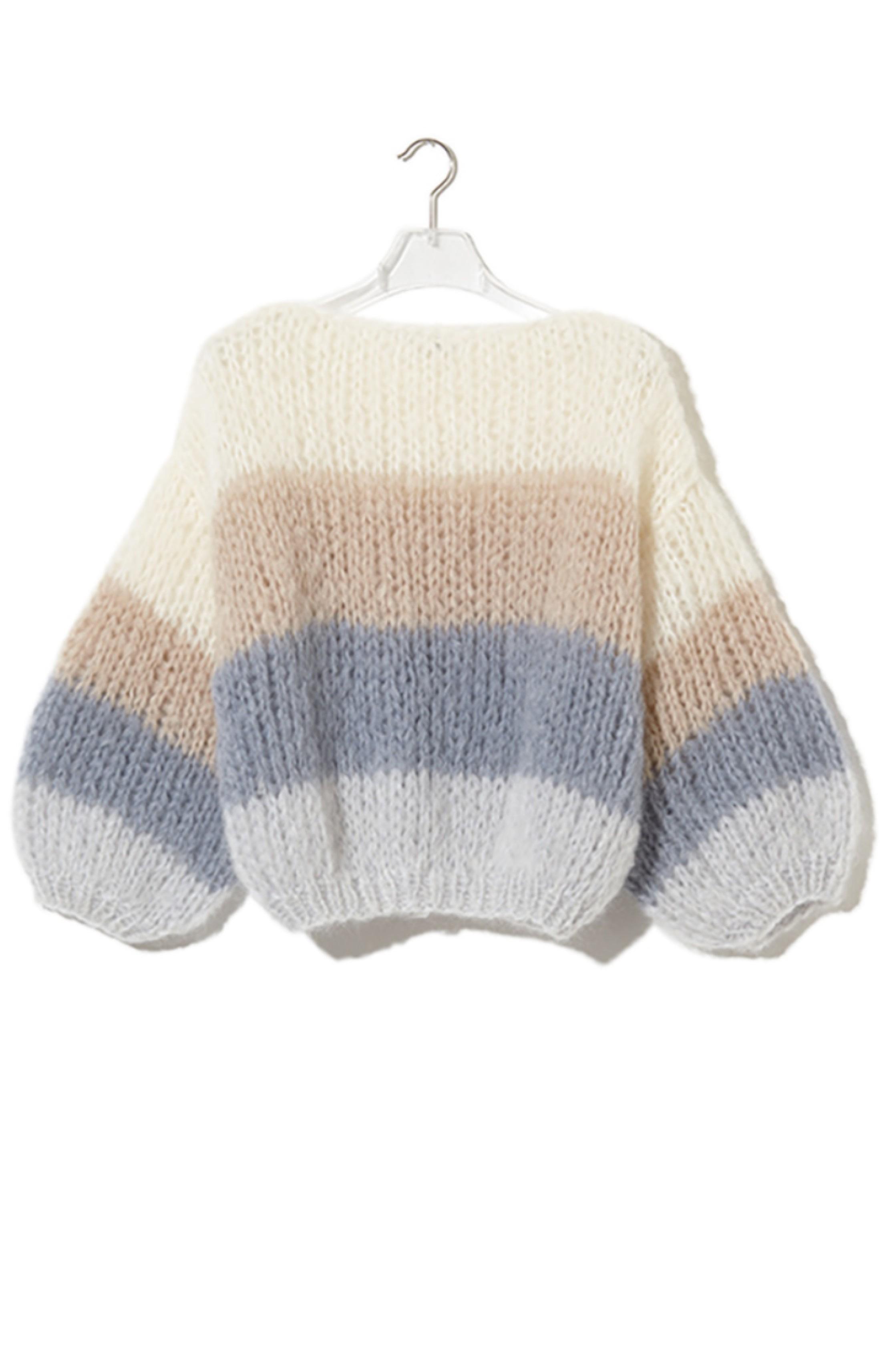 Pullover Mohair Cream Beige