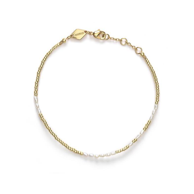 Pearl White Armband