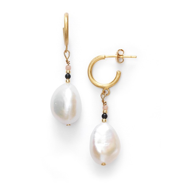 Baroque Pearl Ohrringe