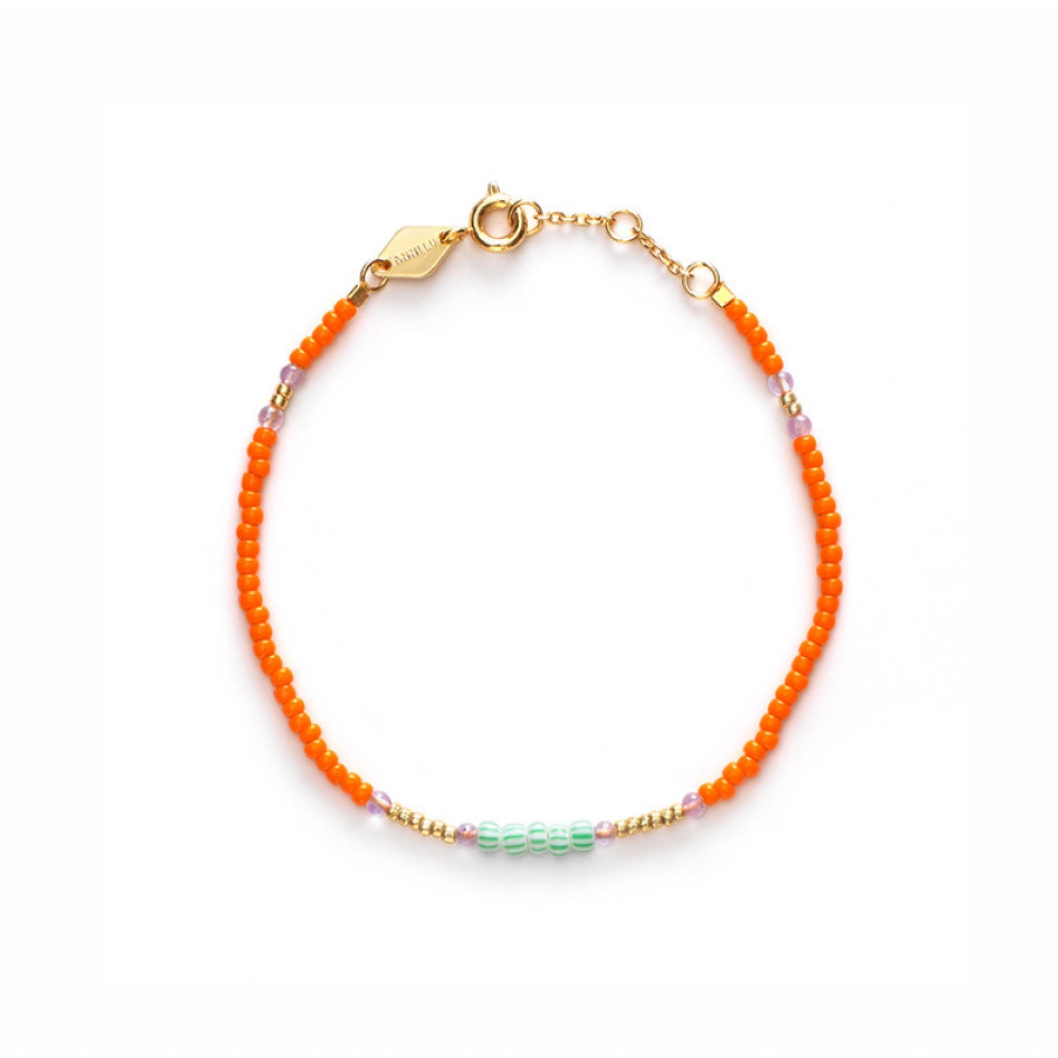 Peppy Orange Armband