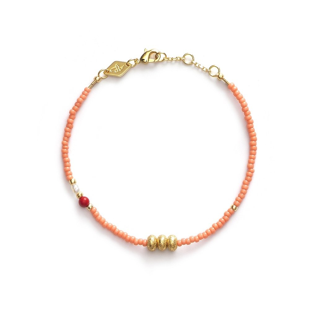 Wave Chaser Armband - Apricot