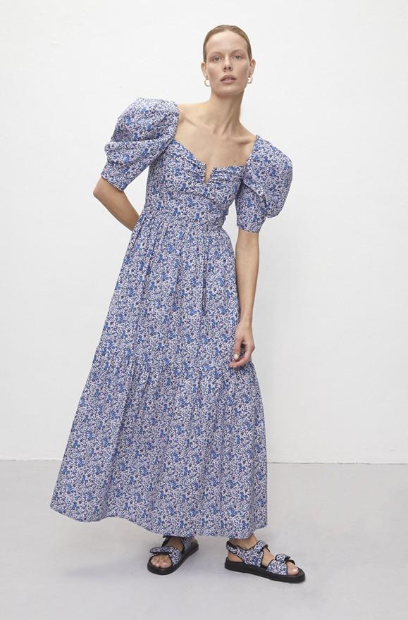 Kleid im Liberty Print
