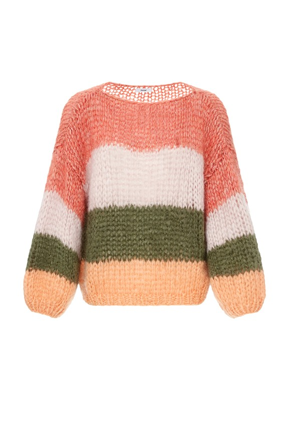 Pullover Mohair Rosa