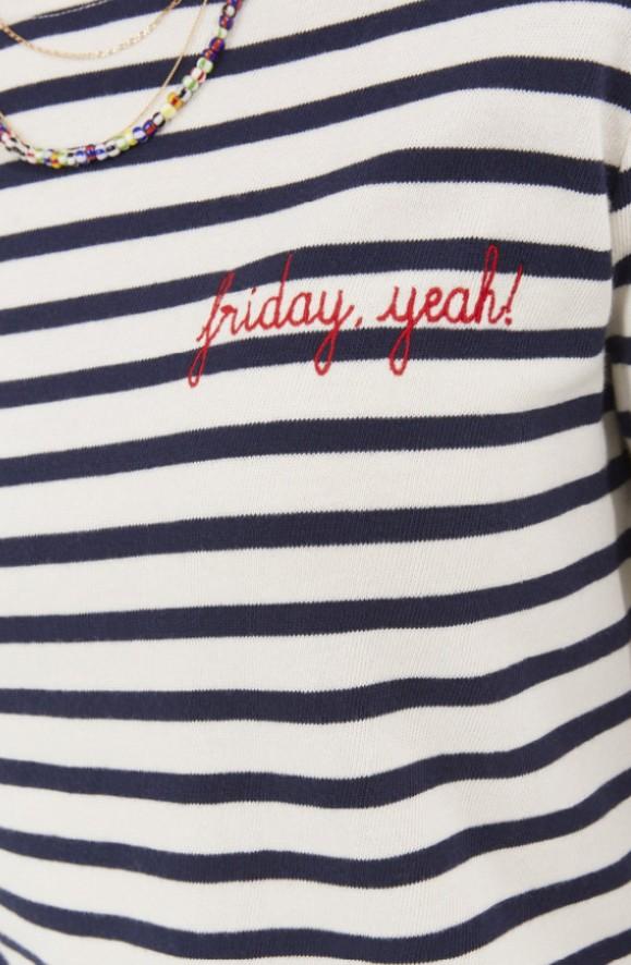 Langarmshirt Friday Yeah