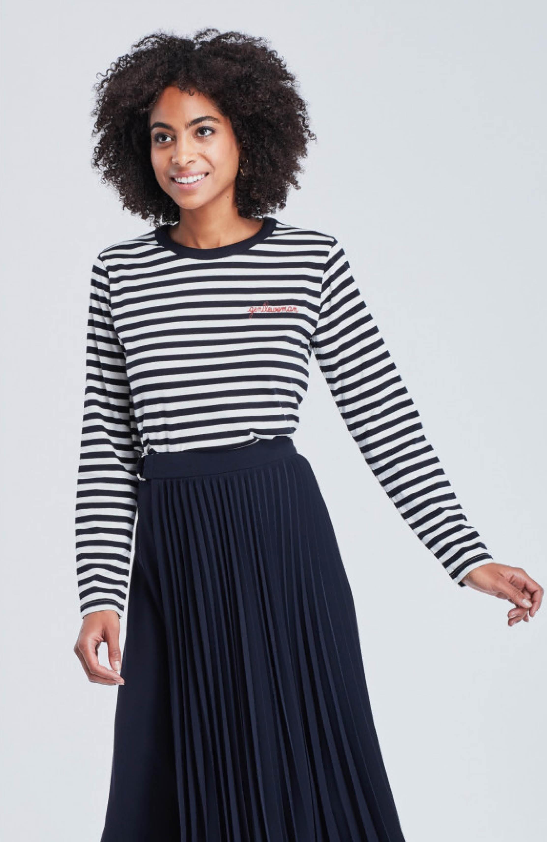 Langarm Shirt Gentelwoman