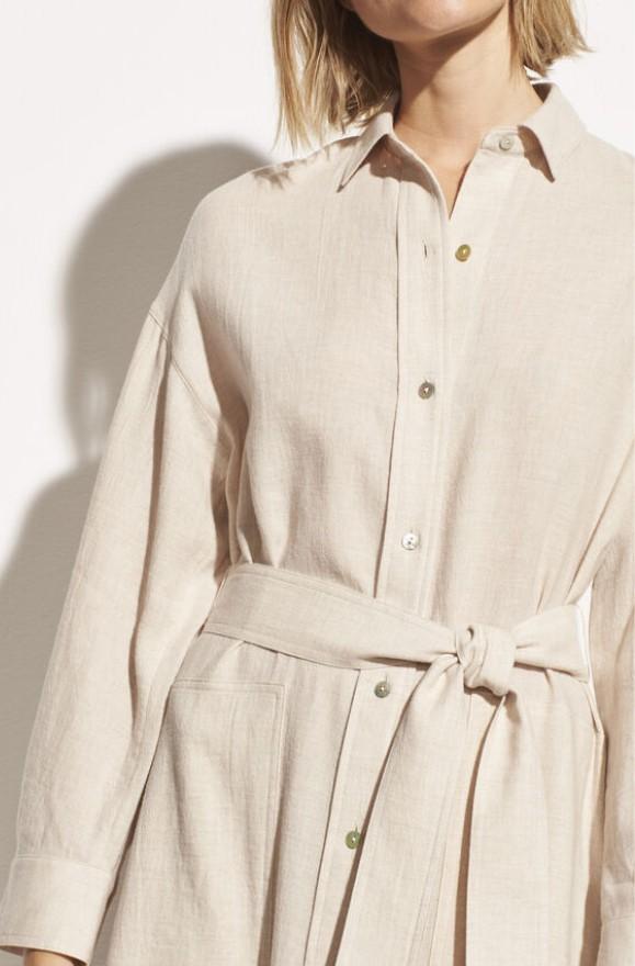 Elegantes Shirt Kleid
